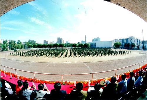 北林报:纪念军训工作开展20年